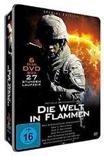 Die Welt in Flammen - 6 DVD Deluxe Metallbox NEU 27 Stunden Doku Kriege
