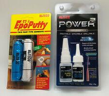 Paket: Alteco EpoPutty, Klebeknete + Alteco Power2, Schweißnaht aus der Flasche