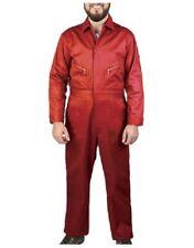 """Dickies Flame Retardant Daletec Work Coveralls Red Boiler suit 38"""" Tall Leg"""