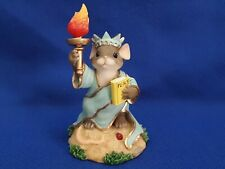 """Charming Tails Lt Ed #2095 Out Of 7,000 Made """"Little Lady Liberty"""" Fritz & Floyd"""