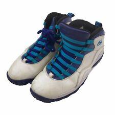 Air Jordan 10 Retro Charlotte Hornets Mens Basketball Sneaker 310805 Shoes Sz 9