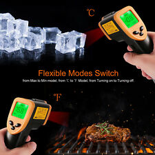 Handheld Temperature Gun Non-contact Digital Laser Infrared IR Thermometer