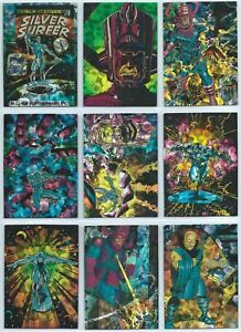 1992 Comic Images All Prism Silver Surfer You Pick the Base Card Finish Your Set