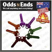 LW5 Keyblanks Patfield COLORED Key Blank TOP QUALITY x 10, x 20, or x 50 bulk
