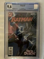 Batman #635 CGC 9.6 White Pages 1st appearance Jason Todd as Red Hood! New Case!