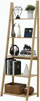 5-Tier Ladder Shelf Bookcase Flower Stand Storage Shelf Display Shelf Furniture
