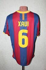 Barcelona Football Shirt Camiseta Jersey Soccer 2010 2011 Home Size XL #6 XAVI