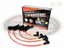 Magnecor KV85 Red Ignition HT Lead Set Renault 19 Chamade GTS Energy 1.4 8v