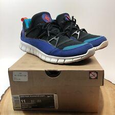 06ee04009e Nike Plus Free Huarache Light Black Orange Concord 555440 085 Size 11 Max  Kukini