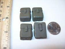 21st Century Toys Lot of 4 M1956 Ammo Pouches 1/6