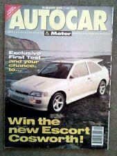 AUTOCAR MAGAZINE 13-MAY-92 - Escort RS Cosworth, Delta HF Integrale, Sunny GTi-R