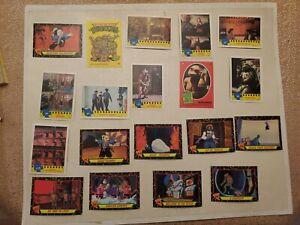 1989 & 1990 TMNT - Teenage Mutant Ninja Turtles Cards & Sticker Lot of 47