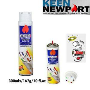 Newport Gas Butane Zero Impurities Butane Lighter Refill 300ml