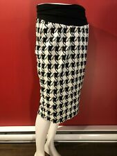 ISABELLA OLIVER for Pea in the Pod Women's Houndstooth Skirt - Size 4 - NWT $149