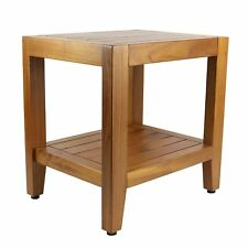 NEW - Teak Shower Bench: 18 Inch The Sumatra Bench - FREE SHIPPING!!!