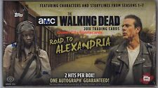 2018 TOPPS AMC THE WALKING DEAD ROAD TO ALEXANDRIA SEALED HOBBY BOX