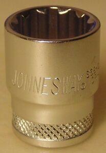 "Jonnesway 17mm Super Tech 3/8"" Drive Socket for Nissan Toyota Mazda Ford Audi VW"