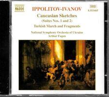 ALBUM CD / IPPOLITOV IV ANOV : ORCHESTRAL WORKS / NAXOS
