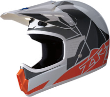 NOS Z1R  Rise Youth Helmet L/X Orange/Blue Motorcross or ATV