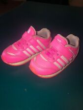 K-Swiss Classic Pink Leather 23959 Infant Toddler Shoes Sz 4.5