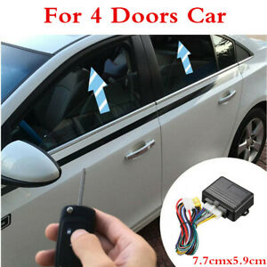Universal Auto Car 4-door Automatic Power Window Roll Up Closer Module Lift Kit