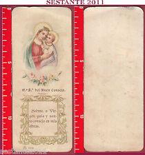 2310 SANTINO HOLY CARD N. S. DEL BUEN CONSEJO BUON CONSIGLIO 6514