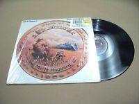 VINYL ALBUM RECORD,RARE MERLE HAGGARD THE AMERICAN, 1985, IN SHRINK,FE-40224