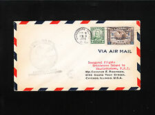 Grindstone Island Charlottetown Canada Air Mail First Flight Cover ø