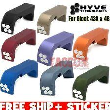 HYVE Technologies Extended Magazine Billet Aluminum Release for Glock 43X 48