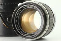 [Near Mint ] CANON 50mm f/1.8 LEICA L39 LTM Screw Mount Prime Lens w/ case Japan