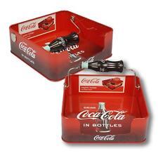 Coca-Cola Coke USA Servietten Spender Halter mit Flasche als Beschwerung