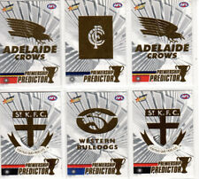 2008 Select Classic Premiership Unredeemed Predictor CardS X 6