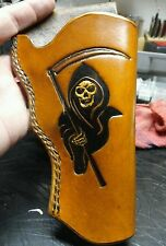"Handmade Leather Holster ""The Reaper"" for Taurus Judge 3"" Cylinder 3"" Barrel"