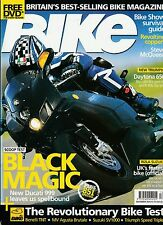 Bike Dec 04 Rizla GSX-R1000 Benelli TNT MV Brutale Speed Triple 851 v SP-2 Honda