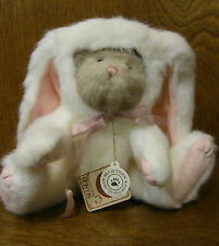 """Boyds Plush #91861 Nibblekins, New From Retail Store 10"""" bear in bunny suit"""