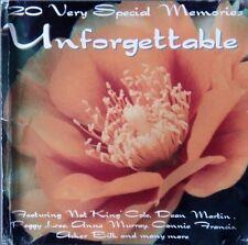 Unforgettable - 20 Very Special Memories CD