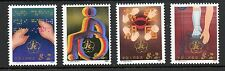 China 1985 Welfare Fund Handicapped SG3373-3376 unmounted mint MNH set stamps