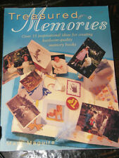 Treasured Memories book by Mary Maguire for scrapbooking