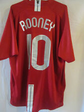 Manchester United 2007-2009 Rooney CL Home Football Shirt Size XXL /8014