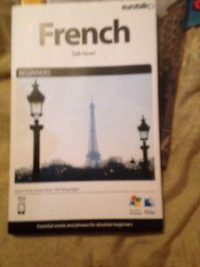 Eurotalk FRENCH Talk Now! CDRom Freepost (bk25