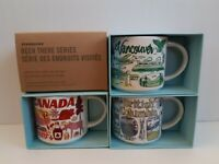 NEW Starbucks SET CANADA VANCOUVER BRITISH COLUMBIA Been There Ceramic Mug 14oz