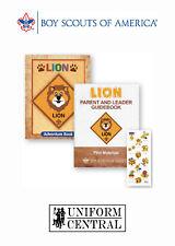 New BSA Boy / Cub Scouts of America LION Parent - Leader - Adventure Guide Book