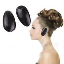 1 Pr Reusable Hair Dye Ear Covers Colour Colouring Plastic Shield Salon Styling