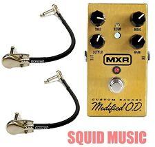 MXR Custom Badass Modified  O.D. M-77 (2 MXR CABLES) Overdrive Distortion M77