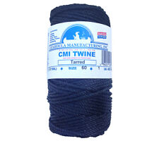 Bank Line no 60 Catahoula Tarred Twisted 1 lb Spool Nylon Seine Twine Decoy Line