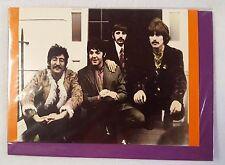 The Beatles Greeting Card Vintage 1967 Photo Repro Printed 1996 London UK Sealed