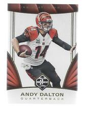2016 LIMITED #94  ANDY DALTON  BENGALS  50 CENT SHIP