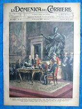 La Domenica del Corriere 10 novembre 1929 Sen.Tittoni - Stati Uniti - Roma