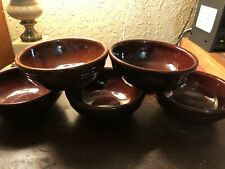 Marcrest Daisy Dot USA Pottery Cereal Bowls 5