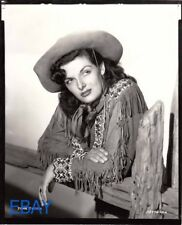 Jane Russell sexy tough cowgirl Photo From Original Negative